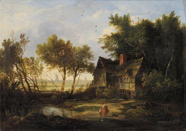 16: Attributed to Patrick Nasmyth (British, 1787-1831)