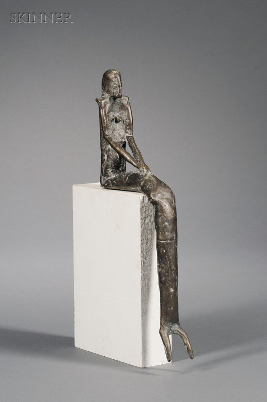 354: Lothar Fischer (German, 1933-2004) Seated Figure S