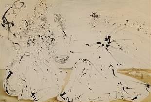 386: Salvador Dali (Spanish, 1904-1989) The Annunciatio