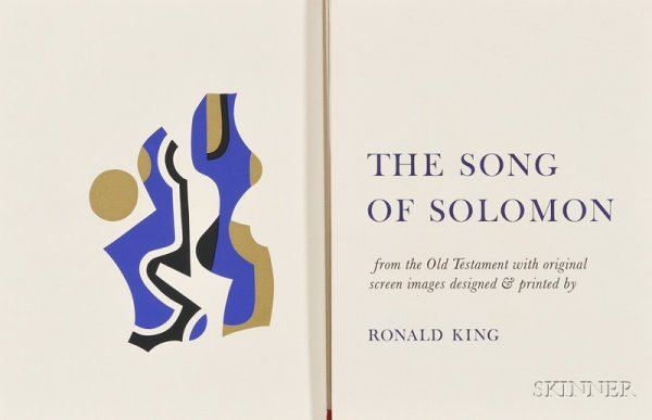 6: (Bible) King, Ronald. The Song of Solomon. Guildford