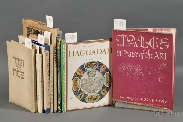 15: (Haggadah) Collection of Nine Illustrated Passover