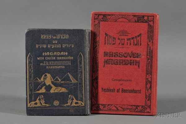 19: (Haggadah) Two Copies, Form of Services for the fir