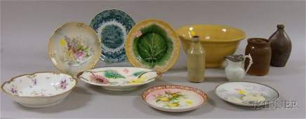 358 Twelve Assorted Stoneware and Ceramic Domestic and