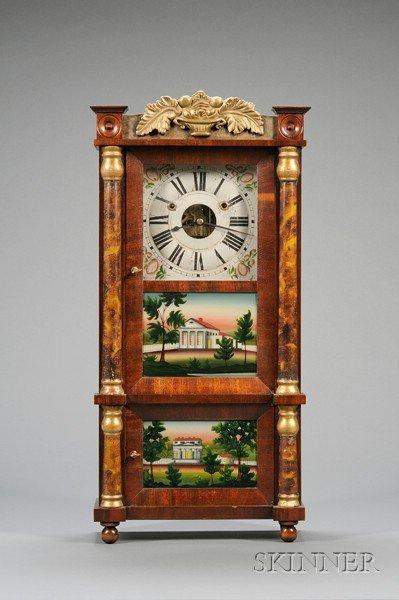 10: Miniature Triple-Decker Shelf Clock by Forestville