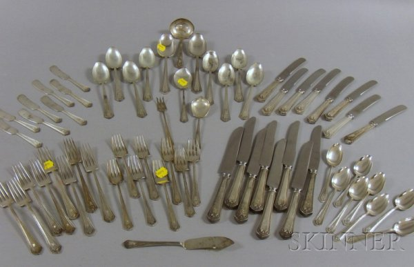 4A: Frank Smith Sterling Silver Partial Flatware Set, A