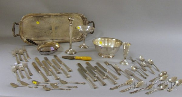 11: Silver Plate and Sterling Serving Items, including