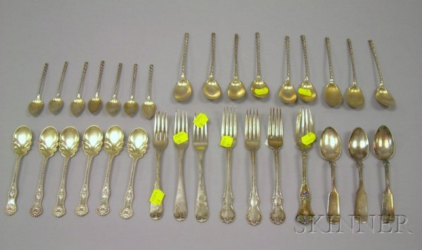 12A: Group of Miscellaneous Sterling and Silver Plated
