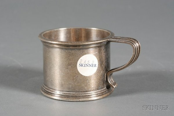 13A: Dominick & Haff Sterling Mug, 1900, retailed by Th
