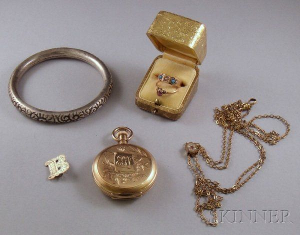 Small Group of Estate Jewelry, including a lady's