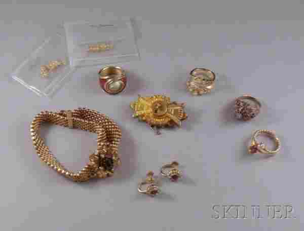 Small Group of Assorted Estate Jewelry, including