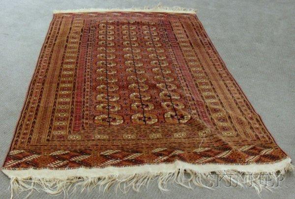 503: Tekke Rug, West Turkestan, 20th century, 8 ft. 8 i