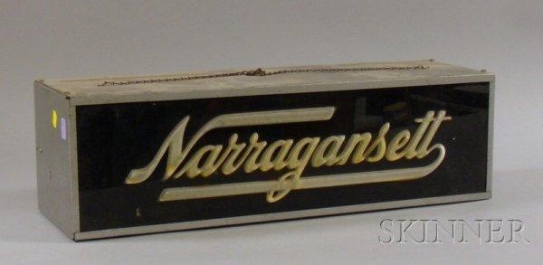 508: Vintage Narragansett Beer Advertising Liquid Light