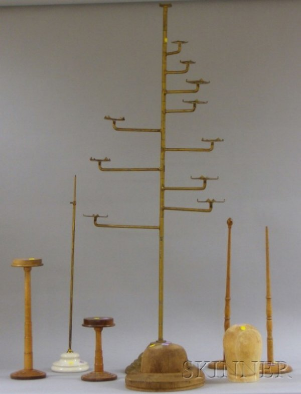 518: Group of 19th and Early 20th Century Hat Stands, D