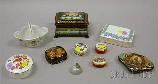745: Ten Small Decorative and Collectible Boxes and Oth