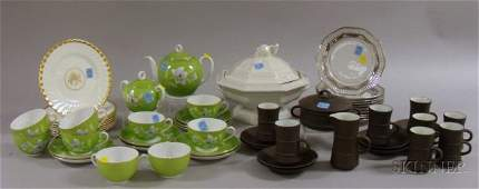 818: Lot of European Porcelain and Ceramic Tea and Tabl