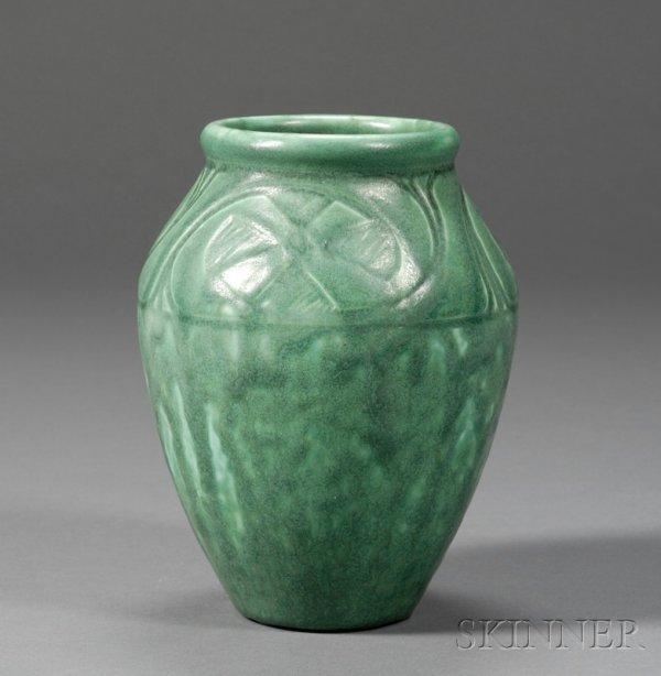 21: Rookwood Pottery Vase Glazed earthenware William Mc