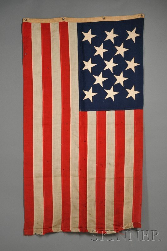 7: Thirteen-star American Flag, New York Navy Yard, Apr