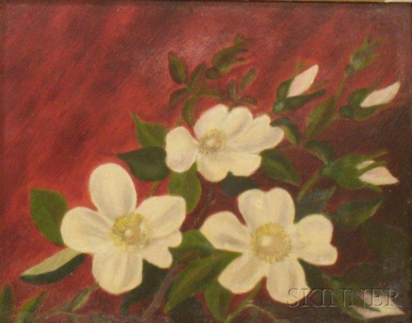 6: Framed 19th/20th Century Oil on Artistboard Still Li