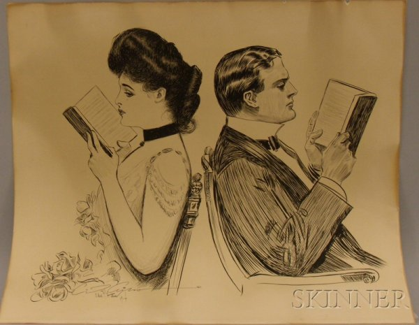 9: After Charles Dana Gibson (American, 1867-1944), The