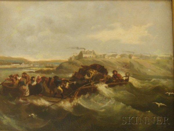 11: Framed 19th Century Oil on Canvas Continental Schoo