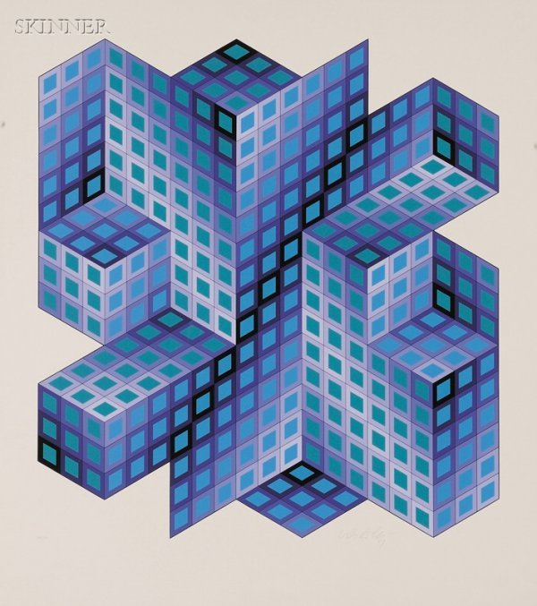 18: Victor Vasarely (French/Hungarian, 1908-1997) Lot o