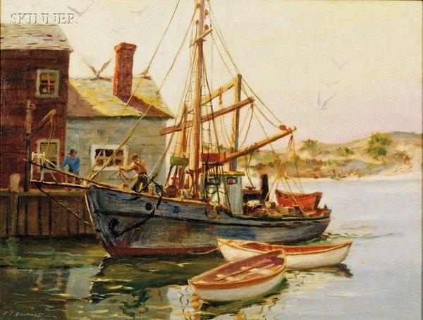 121: J. J. Enwright (American, 1911-2001), Coastal Land