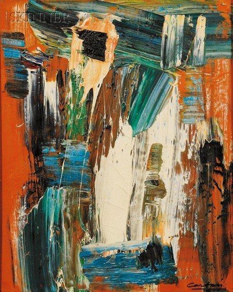 149: Norman Carton (American, 1908-1980), Abstract Comp