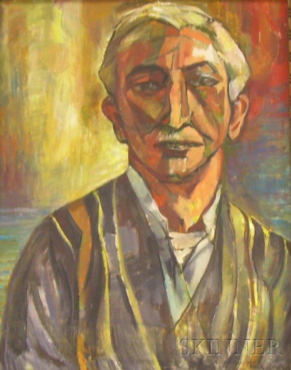 400: Vera Eugenia Andrus (American, 1896-1979) Portrait
