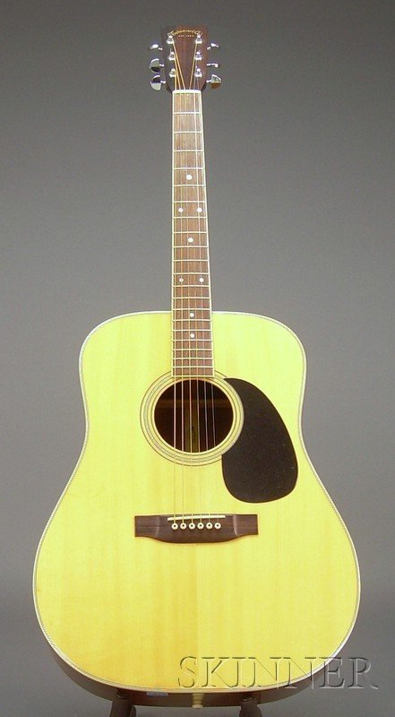 503: Modern Dreadnought Guitar, c. 1980, Takamine & Com