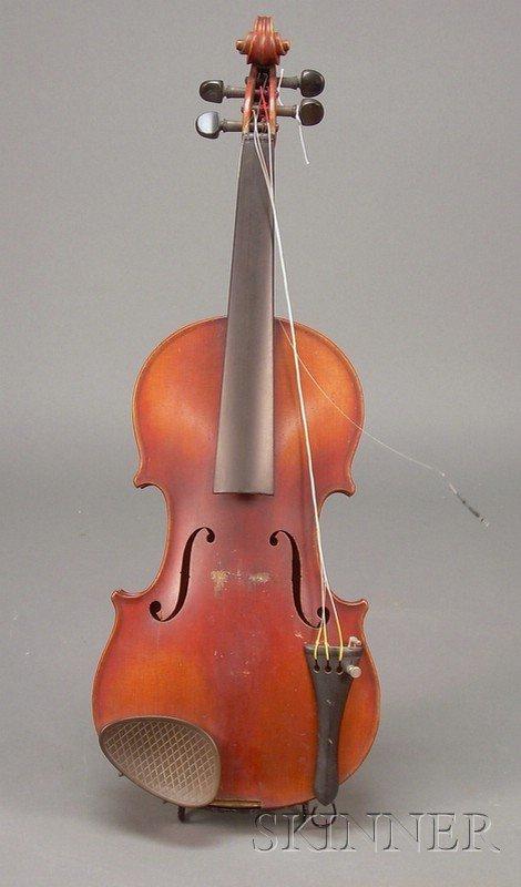 520: American Violin, Henry Richard Knopf, New York, 19