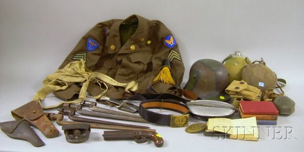 748: Group of 19th and 20th Century Military and Arms R