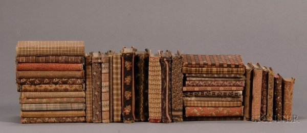 2: Thirty-eight Cloth-Covered Books, America, late 19th