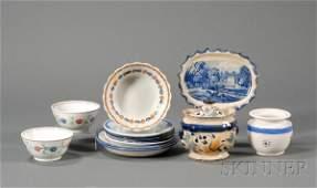 78: Twelve Assorted Ceramic Items, America and England,