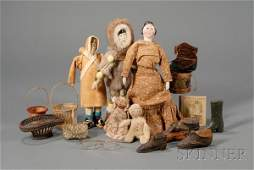 170 Group of Childrens Playthings America 19th cent