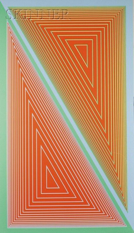 8: Richard Anuszkiewicz (American, b. 1930) Triangulate