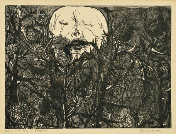 13: Leonard Baskin (American, 1922-2000) Lot of Four Wo