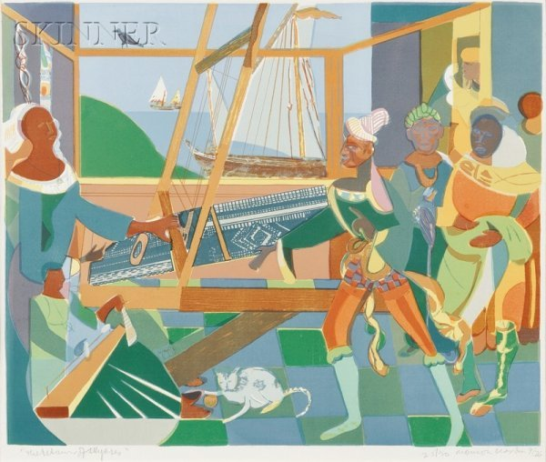 16: Romare Bearden (American, 1911-1988) The Return of