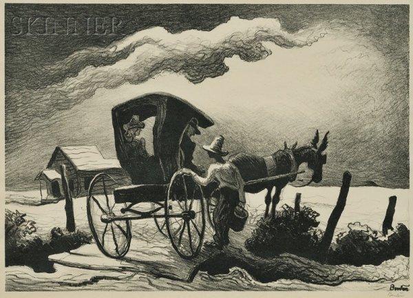 23: Thomas Hart Benton (American, 1889-1975) Gateside C