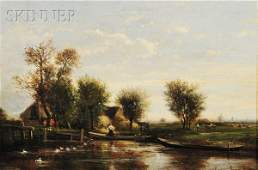 357: Emile Charles Lambinet (French, 1815-1877) Figures