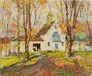 487: Antonio Cirino (American, 1889-1983) Old Livery St