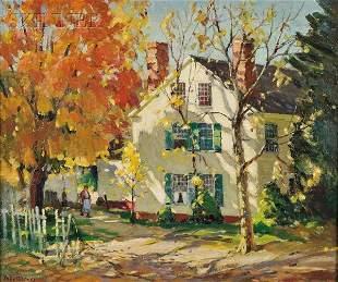 488: Antonio Cirino (American, 1889-1983) New England,