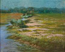 511: Joseph Randolph Brown (American, 1861-1953) Marsh