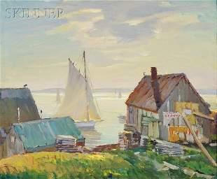 550: Antonio Cirino (American, 1889-1983) Cape Ann Harb