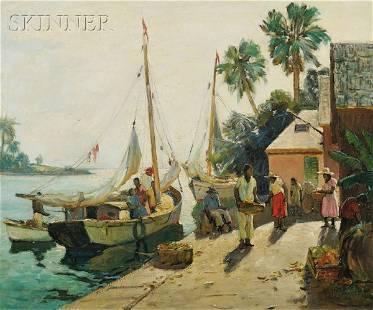561: Anthony Thieme (American, 1888-1954) Bahama Indust