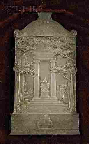 660: Augustus Saint-Gaudens (American, 1848-1907) Comme