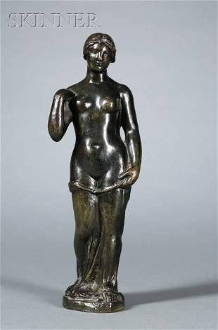 670: Aristide Maillol (French, 1861-1944) Baigneuse deb