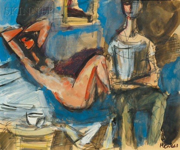 707: Sigmund Joseph Menkes (Polish/American, 1896-1986)