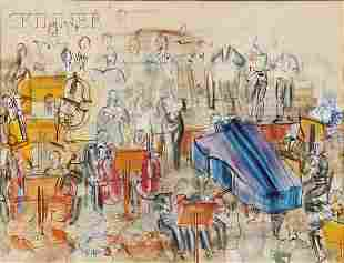 779: Raoul Dufy (French, 1877-1953) Grand Orchestre, 19