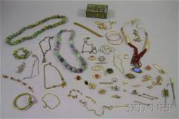 177 Group of Assorted Costume Jewelry Items including
