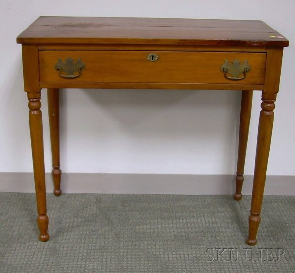 521: Country Pine Dressing Table with Long Drawer.